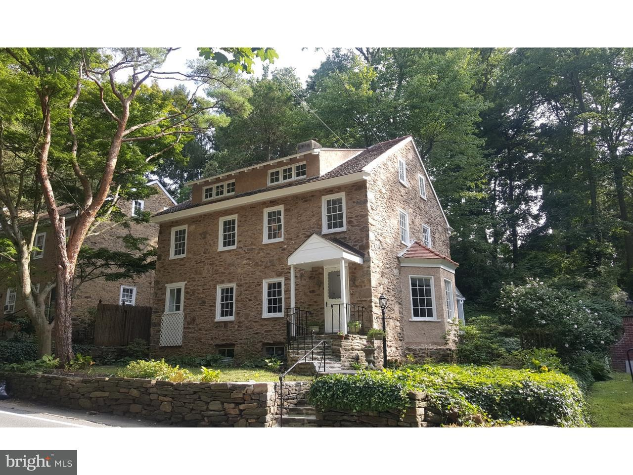 Single Family Home for Sale at 69 W ROSE VALLEY Road Rose Valley, Pennsylvania 19086 United States