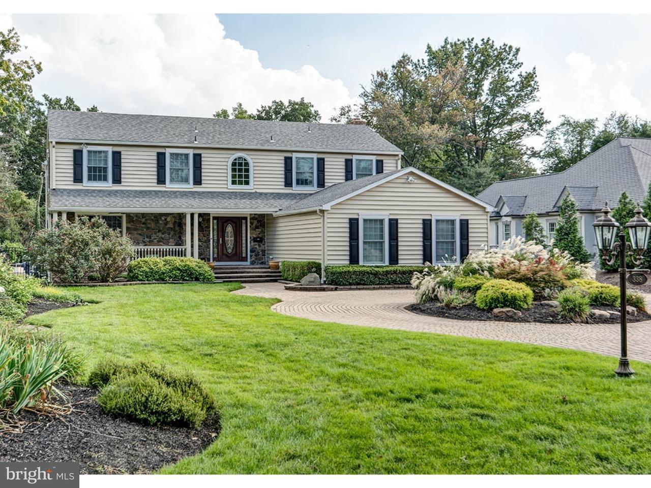 Casa Unifamiliar por un Venta en 338 KINGS HWY W Haddonfield, Nueva Jersey 08033 Estados Unidos