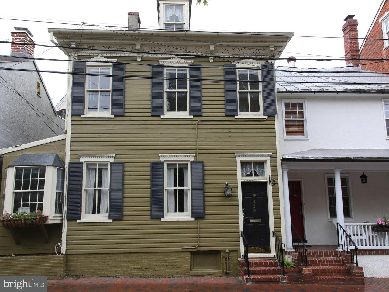 Duplex for Sale at 159 Conduit Street 159 Conduit Street Annapolis, Maryland 21401 United States