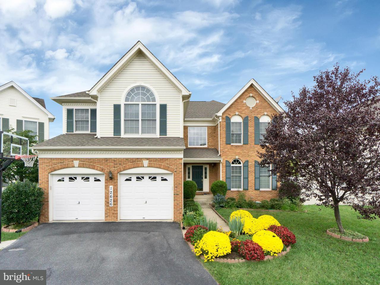 Частный односемейный дом для того Продажа на 12626 Bright Spring Way 12626 Bright Spring Way Boyds, Мэриленд 20841 Соединенные Штаты