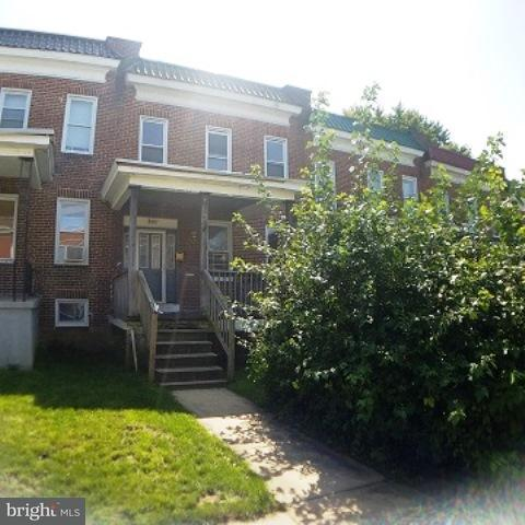 Single Family for Sale at 2907 Violet Ave Baltimore, Maryland 21215 United States