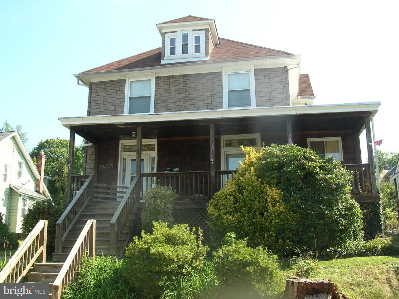 Single Family for Sale at 6419 Rosemont Ave Baltimore, Maryland 21206 United States