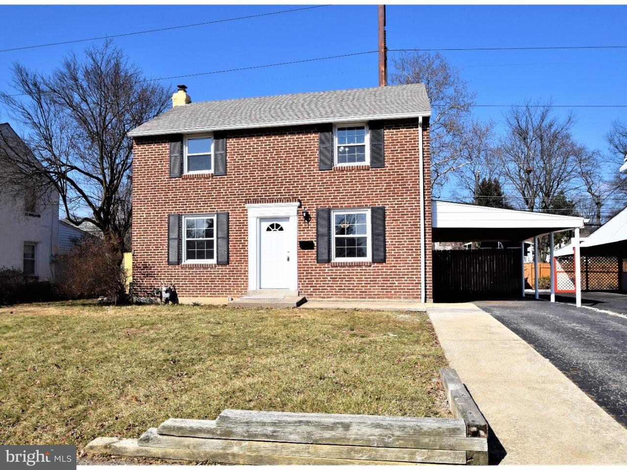 独户住宅 为 销售 在 1029 EDGERTON Road Secane, 宾夕法尼亚州 19018 美国