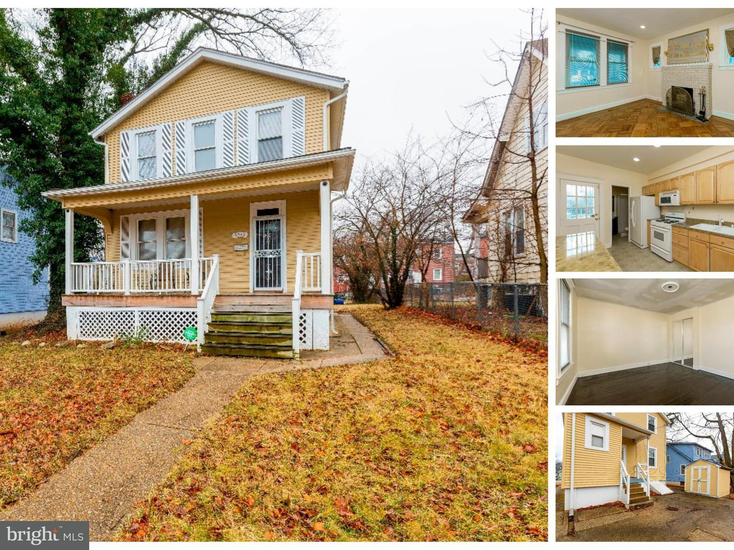 Single Family for Sale at 2715 Cylburn Ave Baltimore, Maryland 21215 United States