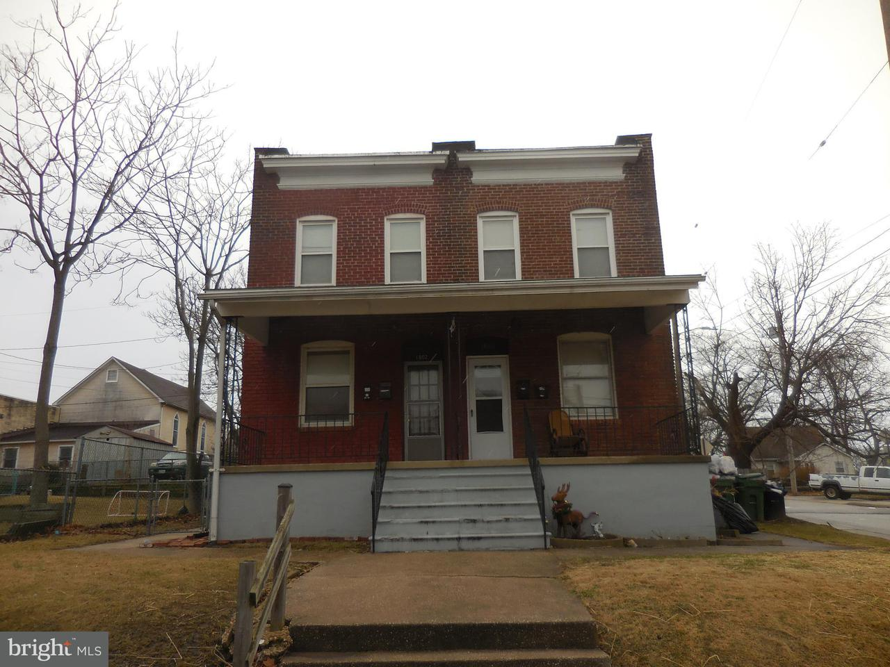 Other Residential for Sale at 18001802 Desoto Rd Baltimore, Maryland 21230 United States