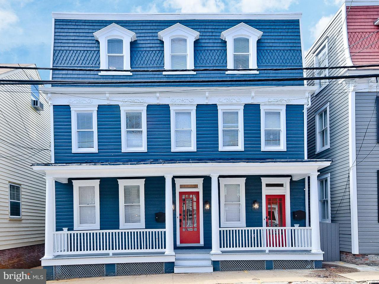 Duplex for Sale at 155 Prince George Street 155 Prince George Street Annapolis, Maryland 21401 United States