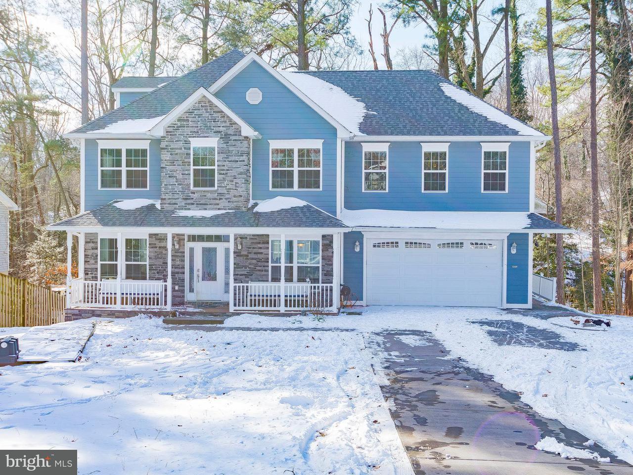 Maison unifamiliale pour l Vente à 1149 Stagecoach Circle 1149 Stagecoach Circle Lusby, Maryland 20657 États-Unis