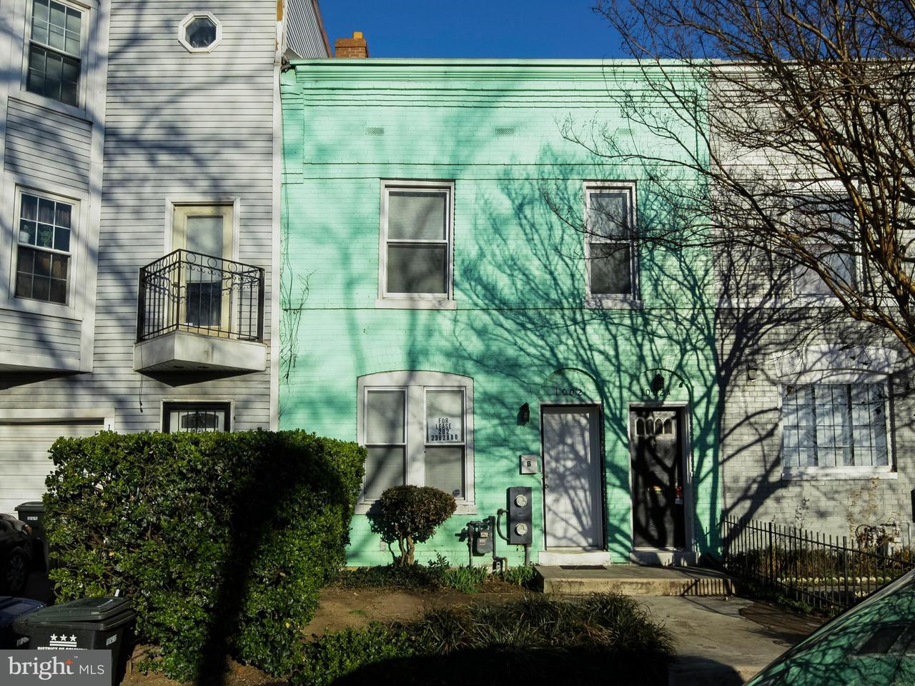 Other Residential for Rent at 1002 13th St SE #b Washington, District Of Columbia 20003 United States