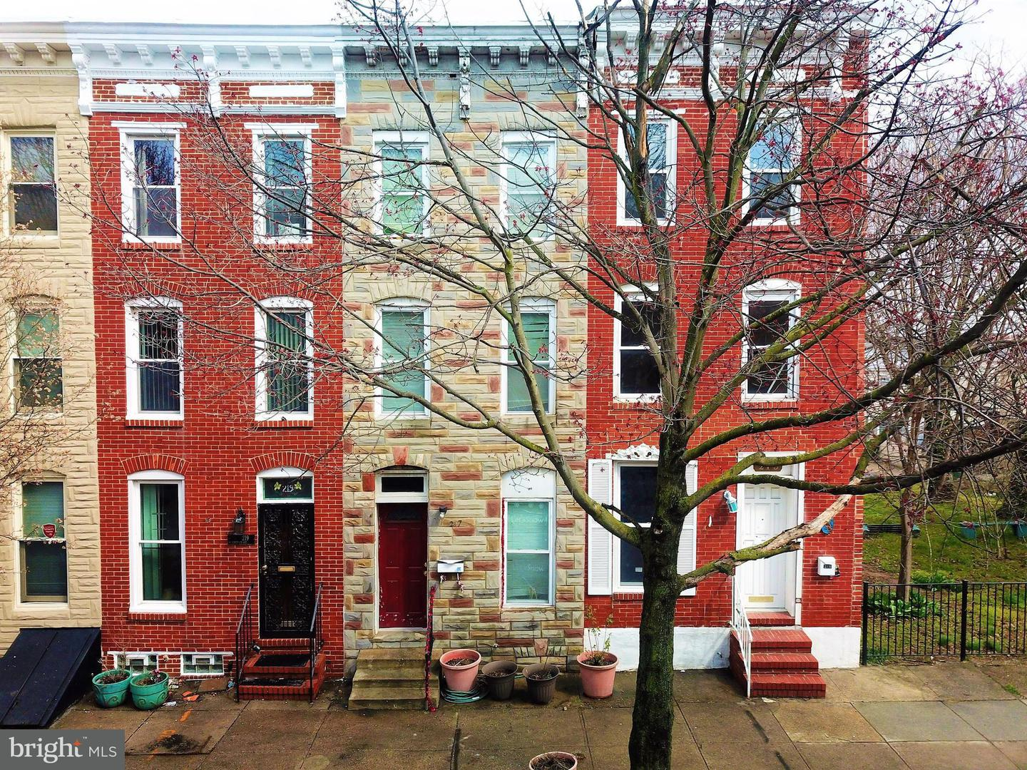 Single Family for Sale at 217 Montford Ave Baltimore, Maryland 21224 United States
