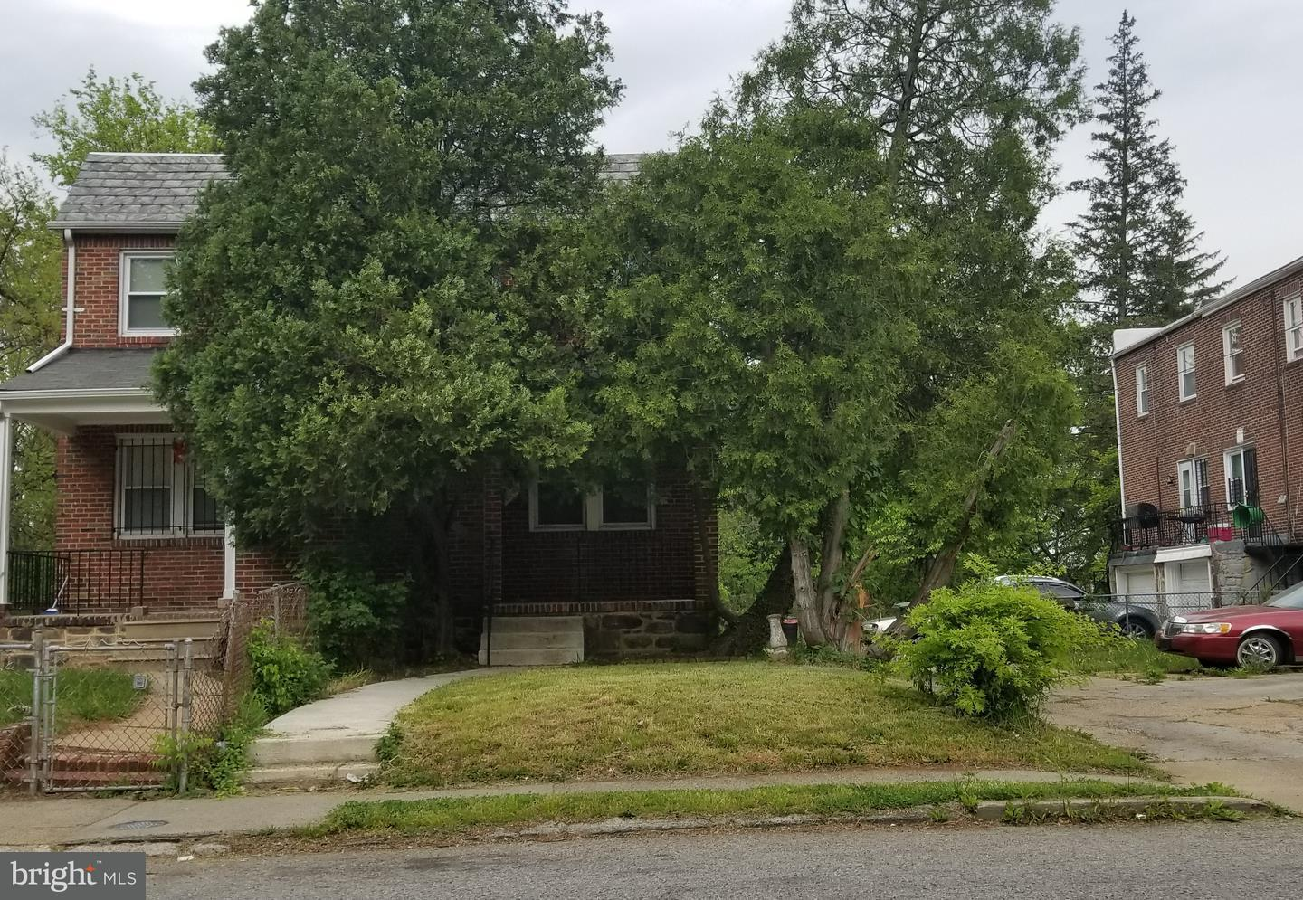Single Family for Sale at 3940 Belvieu Ave Baltimore, Maryland 21215 United States