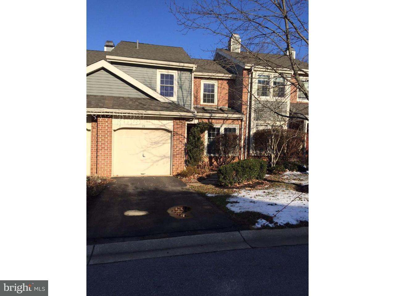 Townhouse for Rent at 75 ABRAMS Court Wayne, Pennsylvania 19087 United States