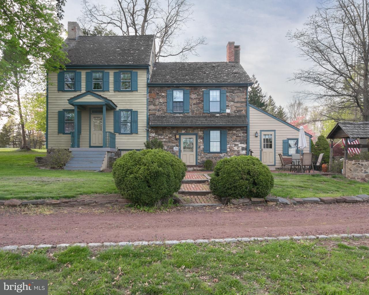 Maison unifamiliale pour l Vente à 1258 BEAR TAVERN Road Titusville, New Jersey 08560 États-UnisDans/Autour: Hopewell Township