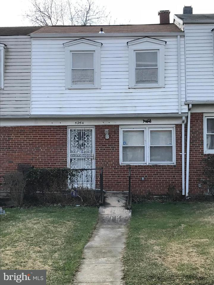 Single Family for Sale at 5254 Darien Rd Baltimore, Maryland 21206 United States