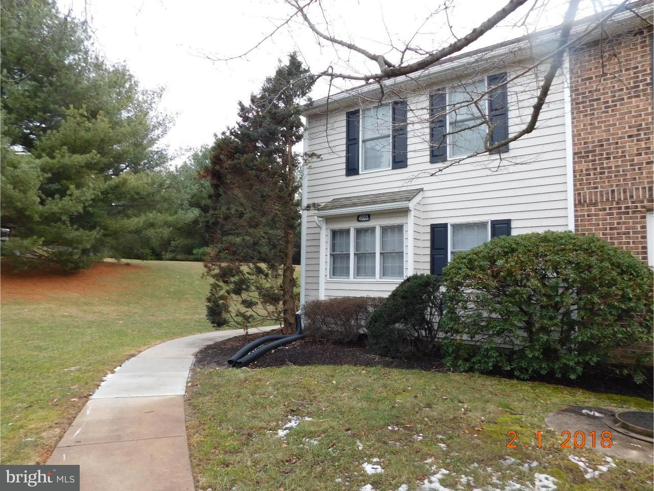 Townhouse for Rent at 4601 FOX POINTE Court Glen Mills, Pennsylvania 19342 United States