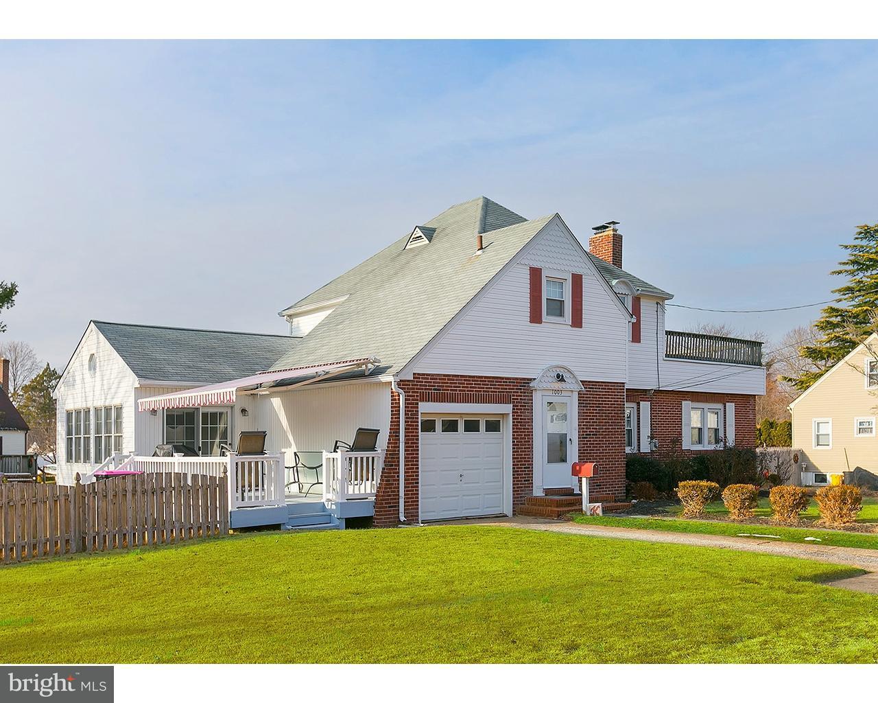 独户住宅 为 销售 在 1003 WOODLAND Avenue Glendora, 新泽西州 08029 美国