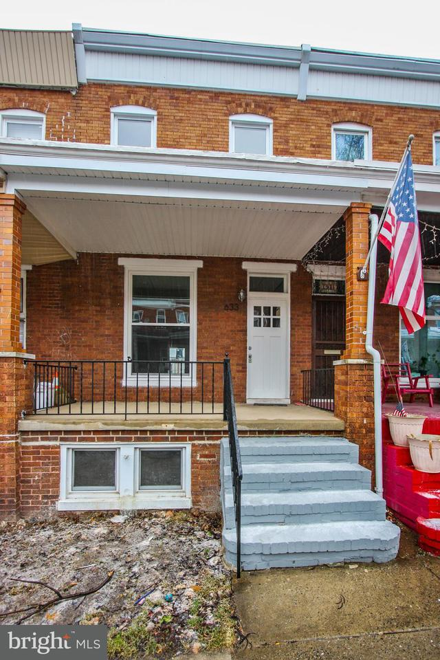 Single Family for Sale at 633 Mckewin Ave Baltimore, Maryland 21218 United States
