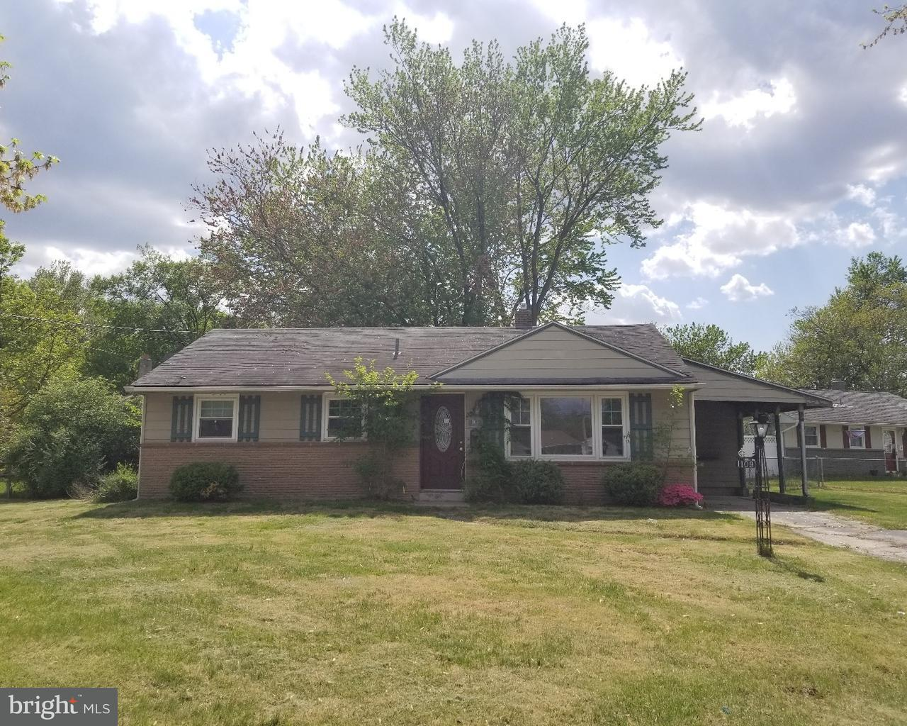 独户住宅 为 销售 在 1109 VIVIAN TER Woodbury, 新泽西州 08096 美国