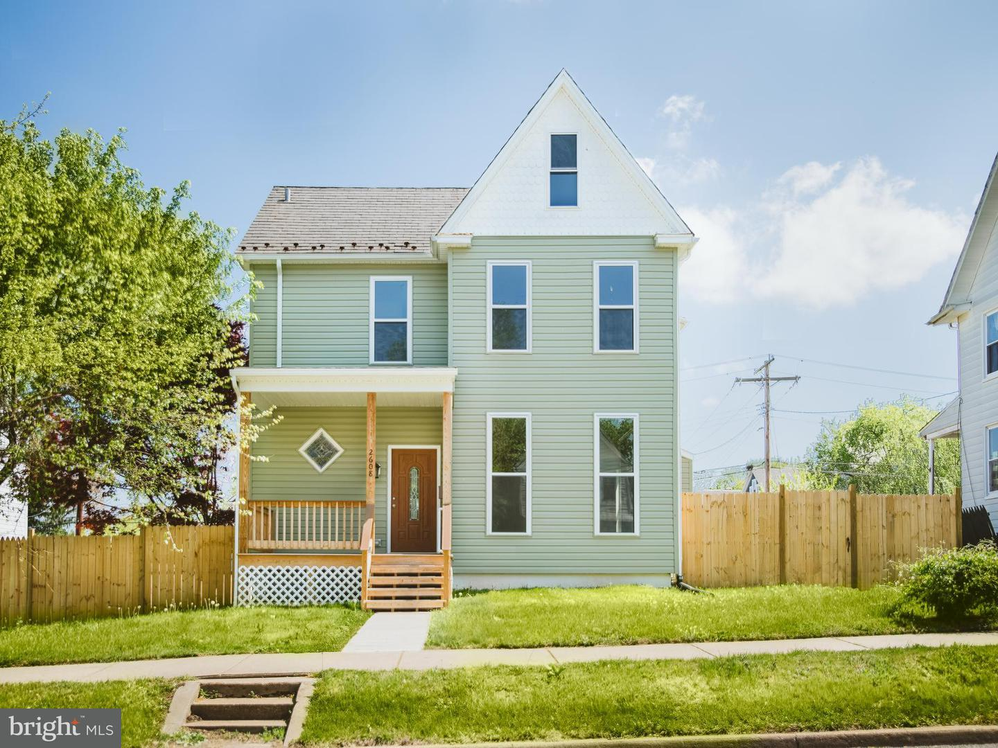 Single Family for Sale at 2608 Hamilton Ave Baltimore, Maryland 21214 United States