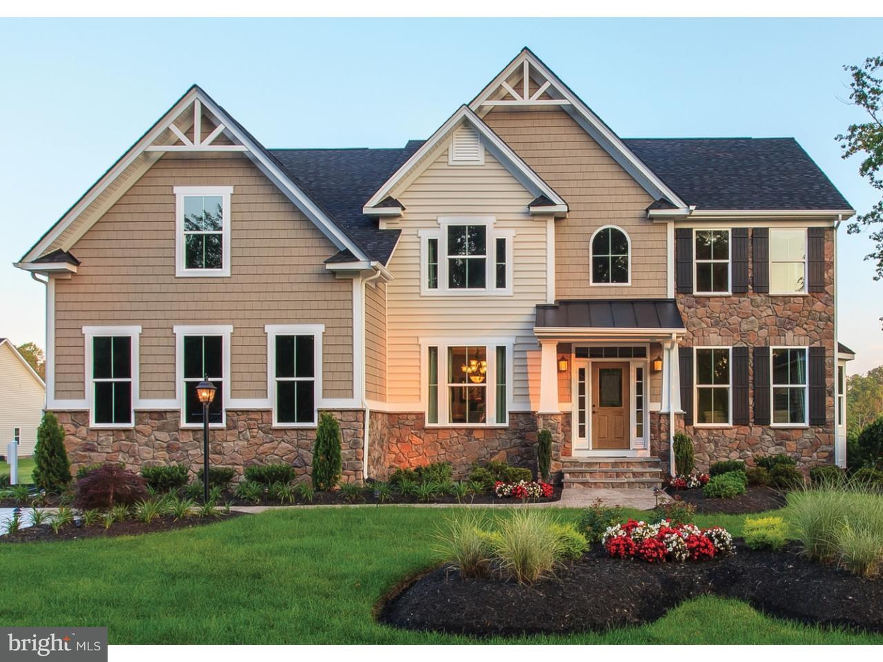 Maison unifamiliale pour l Vente à 400 PEAR TREE Court Delran, New Jersey 08075 États-Unis