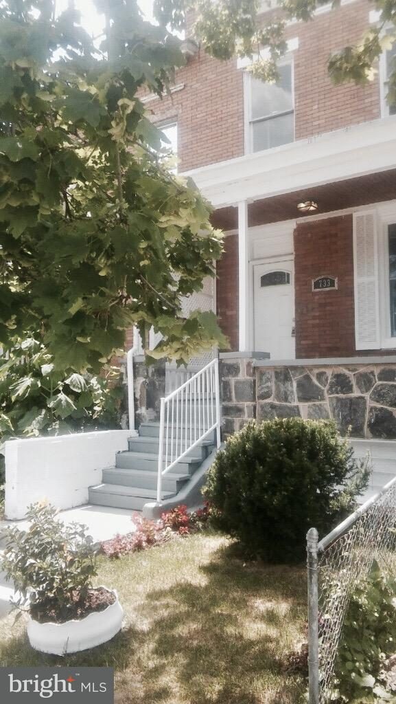 Single Family for Sale at 733 Bartlett Ave Baltimore, Maryland 21218 United States