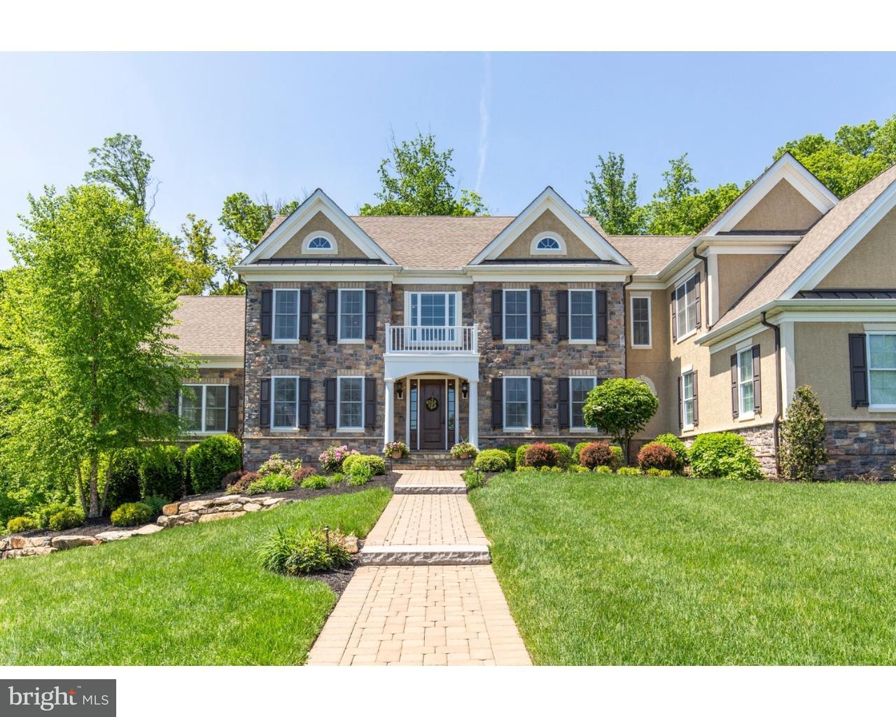 Частный односемейный дом для того Продажа на 4 OAKMONT Circle Glen Mills, Пенсильвания 19342 Соединенные Штаты