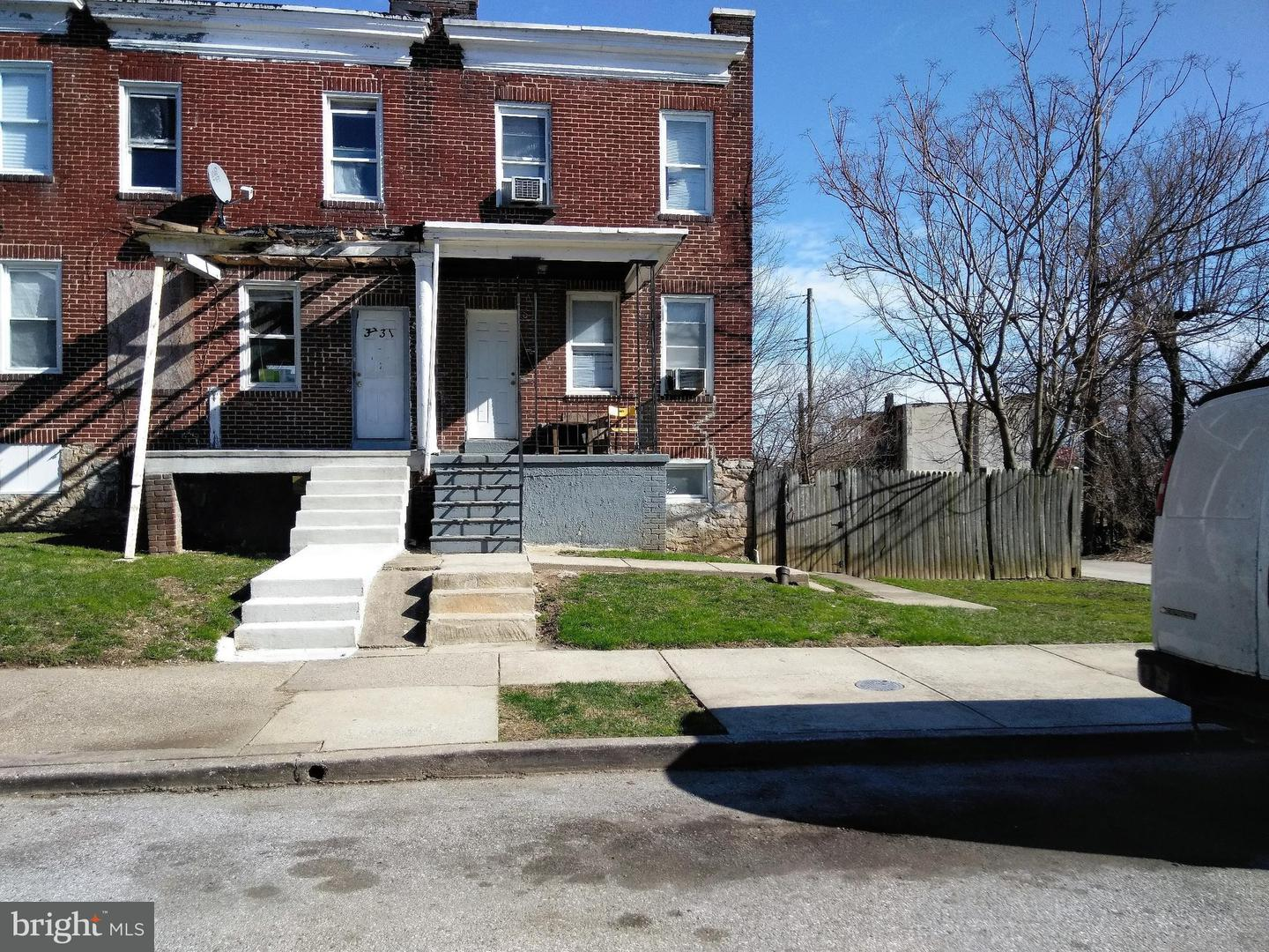 Single Family for Sale at 3733 Beehler Ave Baltimore, Maryland 21215 United States
