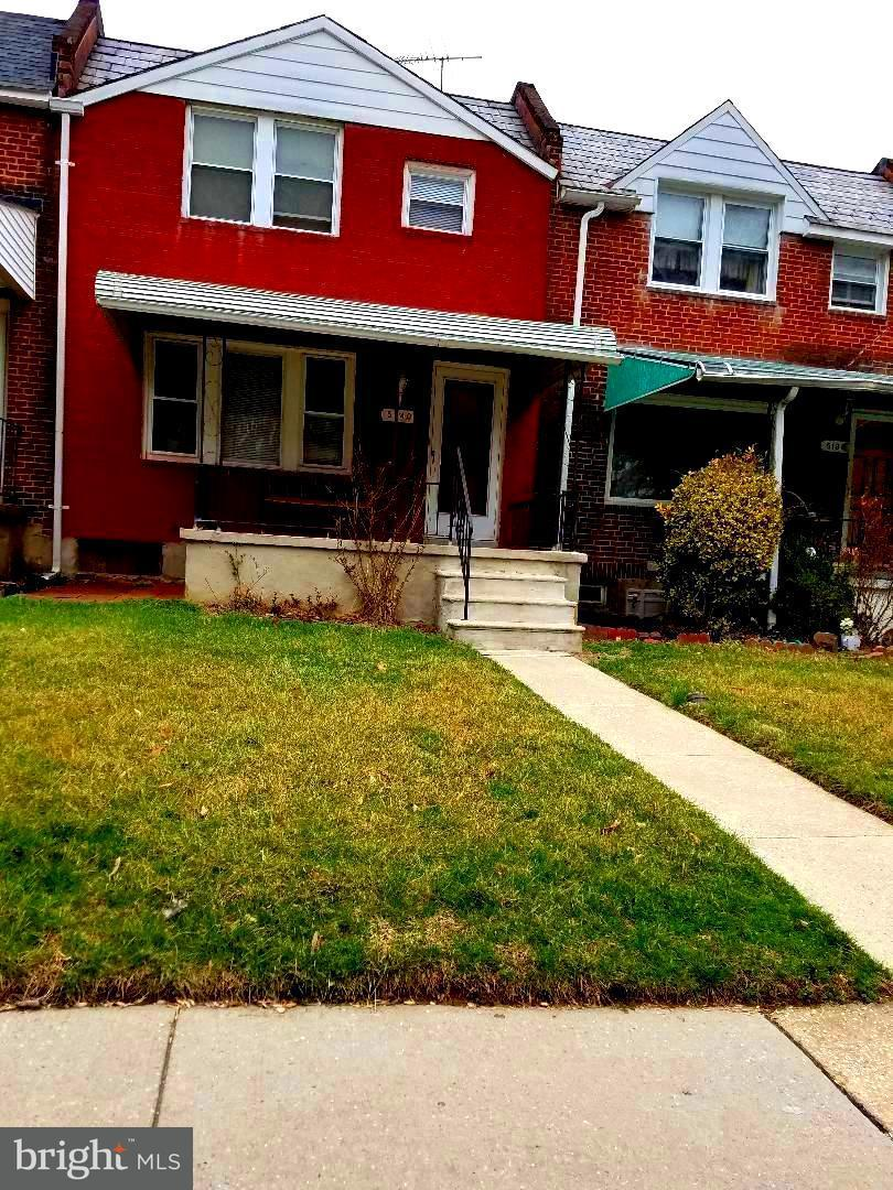Single Family for Sale at 5140 Stafford Rd Baltimore, Maryland 21229 United States