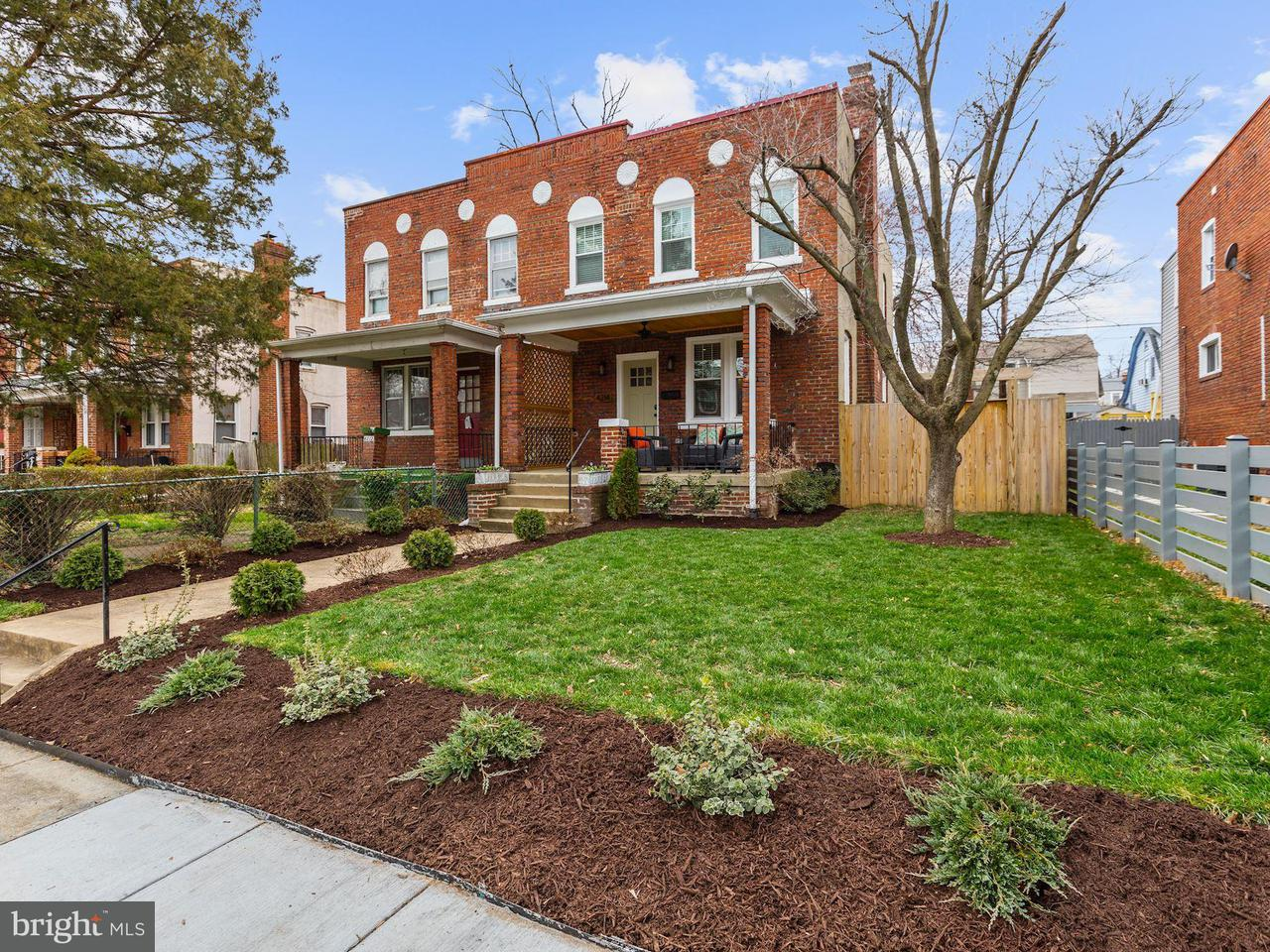 Single Family for Sale at 4214 12th Pl NE Washington, District Of Columbia 20017 United States