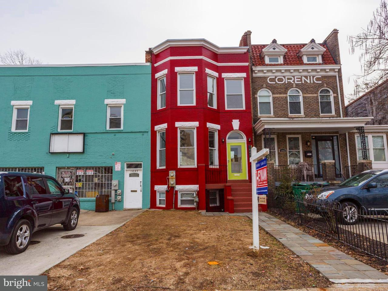Single Family for Sale at 1445 Maryland Ave NE Washington, District Of Columbia 20002 United States