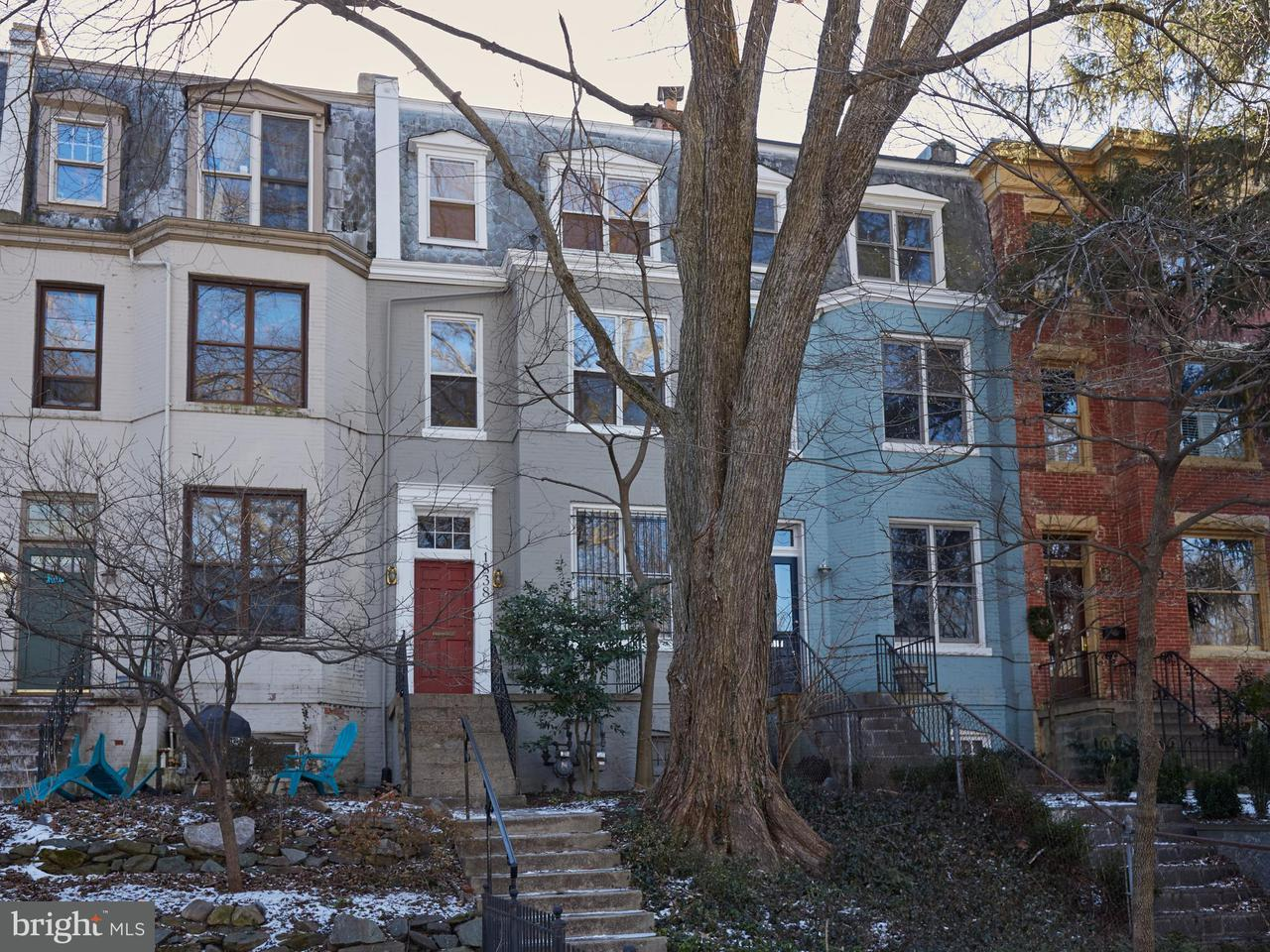 Townhouse for Sale at 1838 Ingleside Ter Nw 1838 Ingleside Ter Nw Washington, District Of Columbia 20010 United States