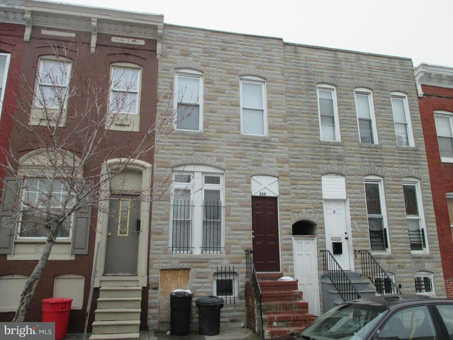 Photo of home for sale at 220 Gilmor Street, Baltimore MD