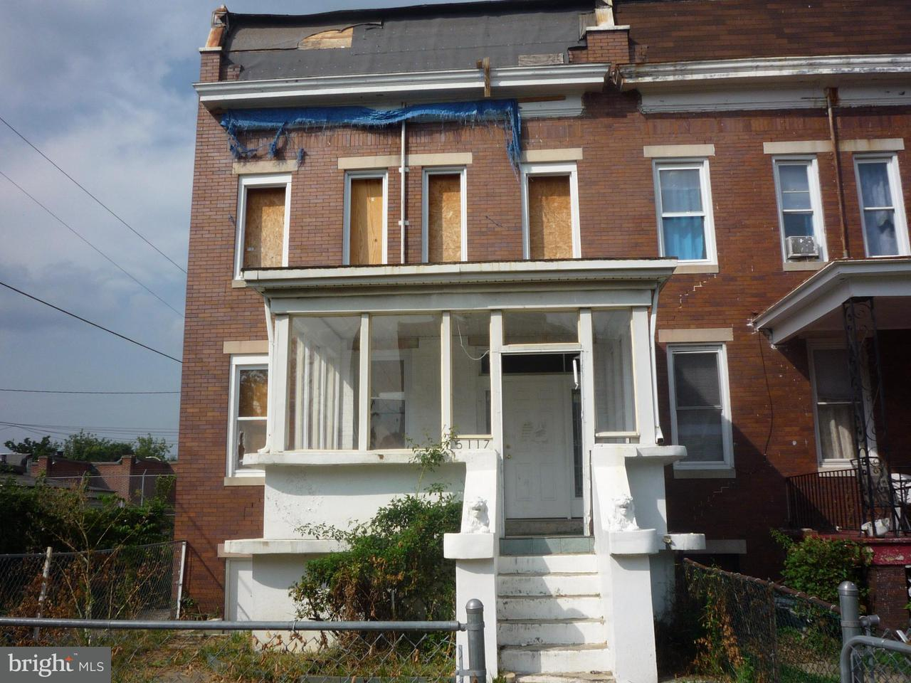Photo of home for sale at 5117 Cordelia Avenue, Baltimore MD