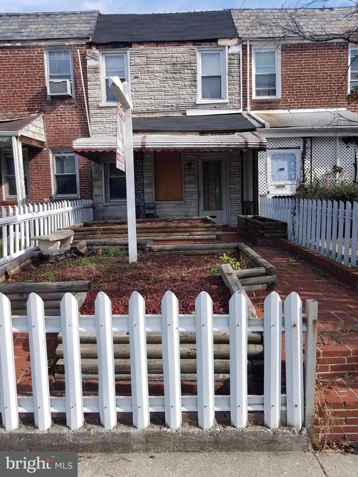 Single Family for Sale at 1423 Dukeland St Baltimore, Maryland 21216 United States