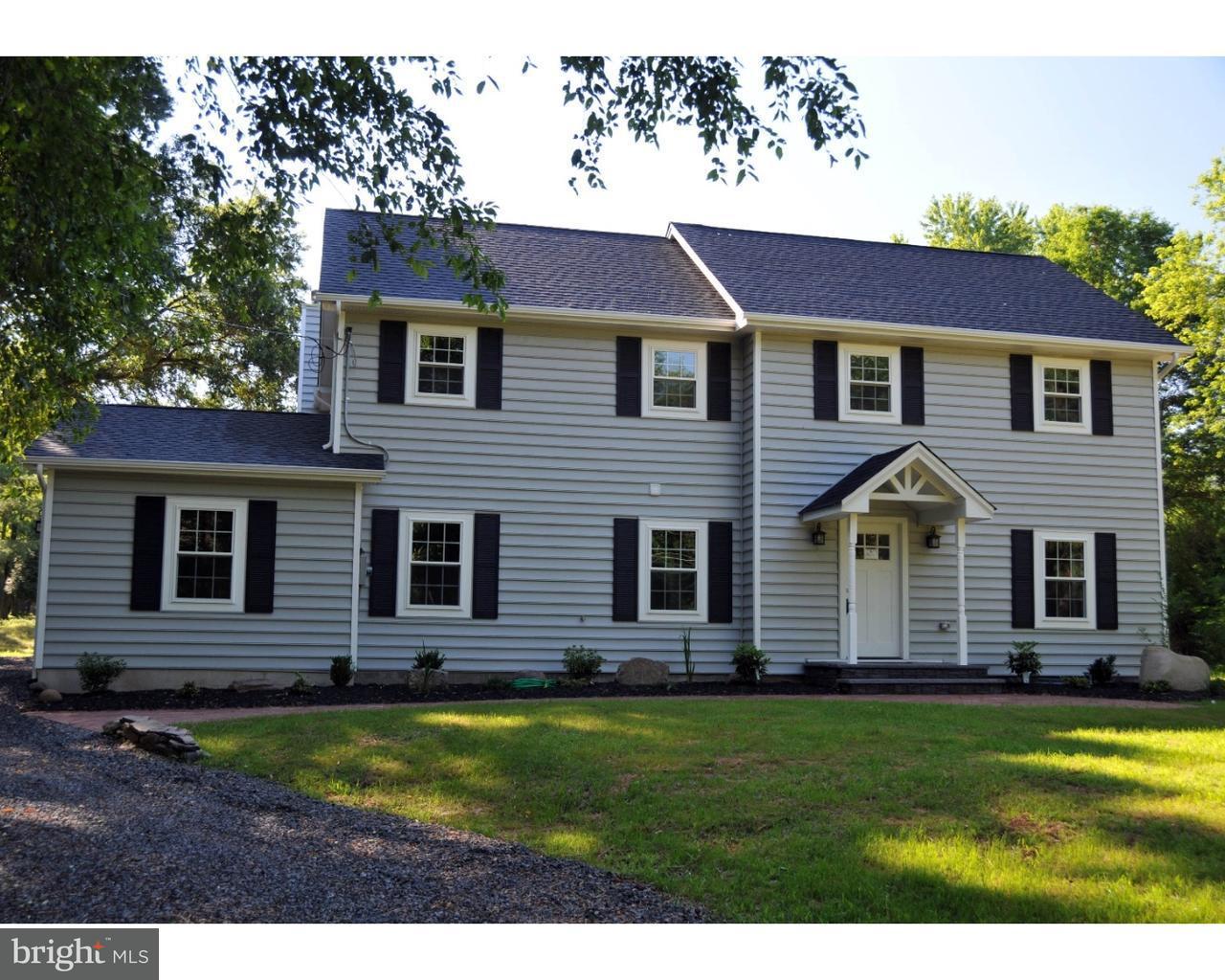 Maison unifamiliale pour l Vente à 1309 CANAL Road Princeton, New Jersey 08540 États-UnisDans/Autour: Franklin Township