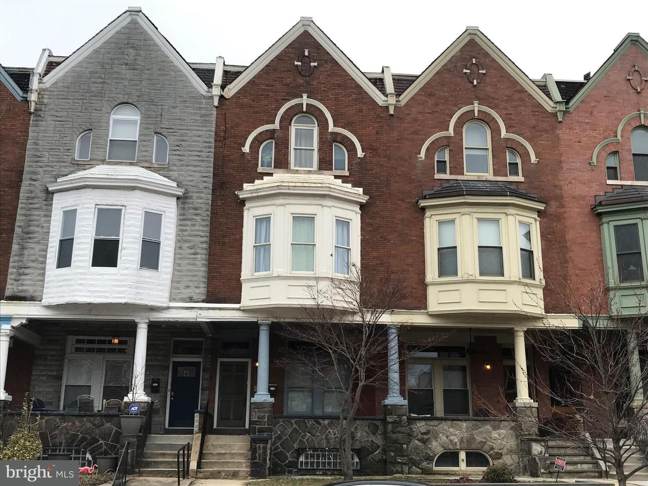 Single Family for Sale at 2242 Linden Ave Baltimore, Maryland 21217 United States