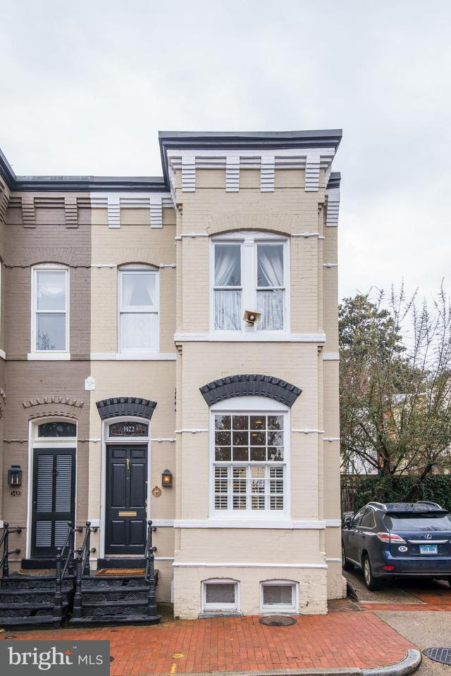 Townhouse for Sale at 3422 N St Nw 3422 N St Nw Washington, District Of Columbia 20007 United States