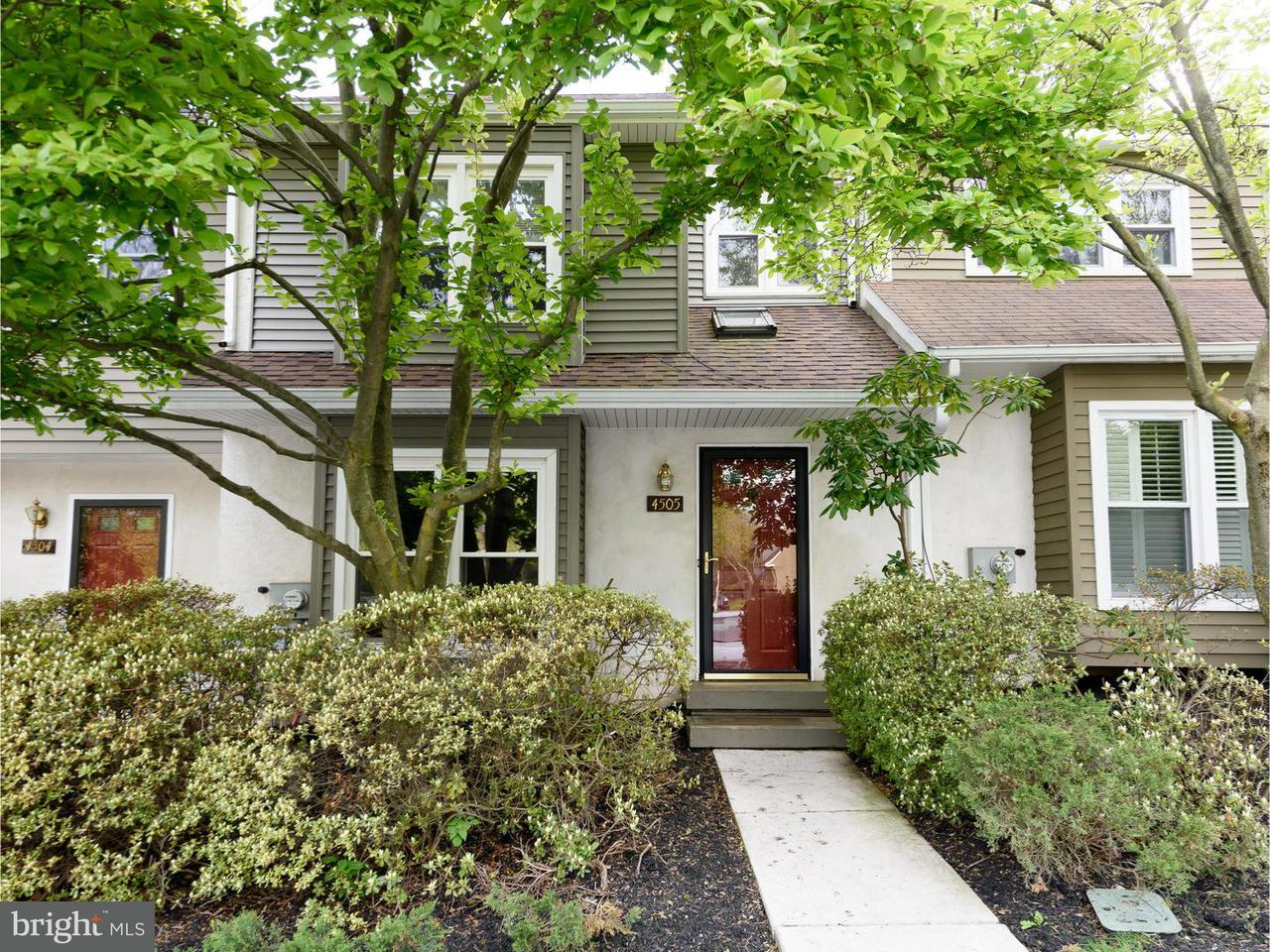 联栋屋 为 出租 在 4505 ADAMS Court 切斯特斯普林斯, 宾夕法尼亚州 19425 美国