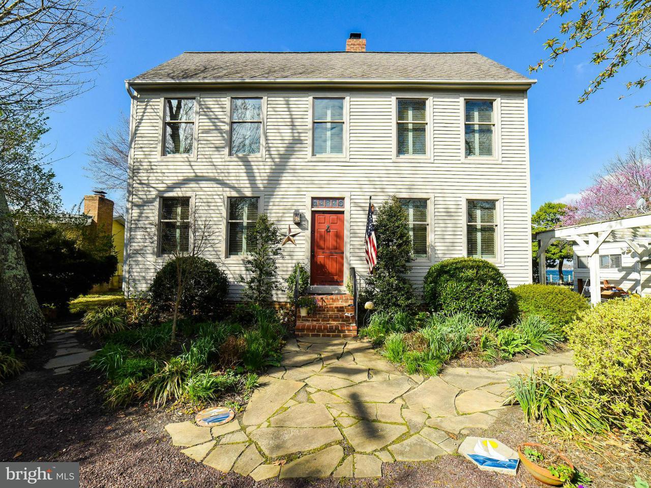獨棟家庭住宅 為 出售 在 14827 Patuxent Avenue 14827 Patuxent Avenue Solomons, 馬里蘭州 20688 美國