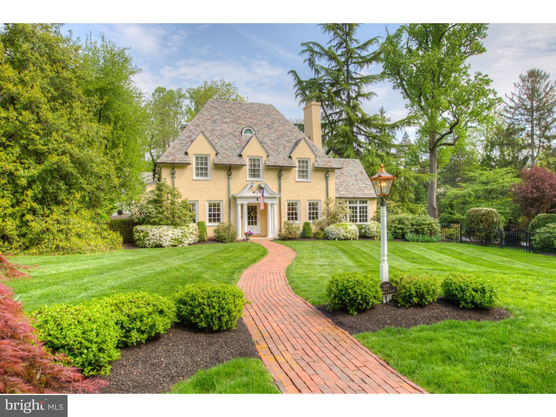 Частный односемейный дом для того Продажа на 227 PEMBROKE Avenue Wayne, Пенсильвания 19087 Соединенные Штаты