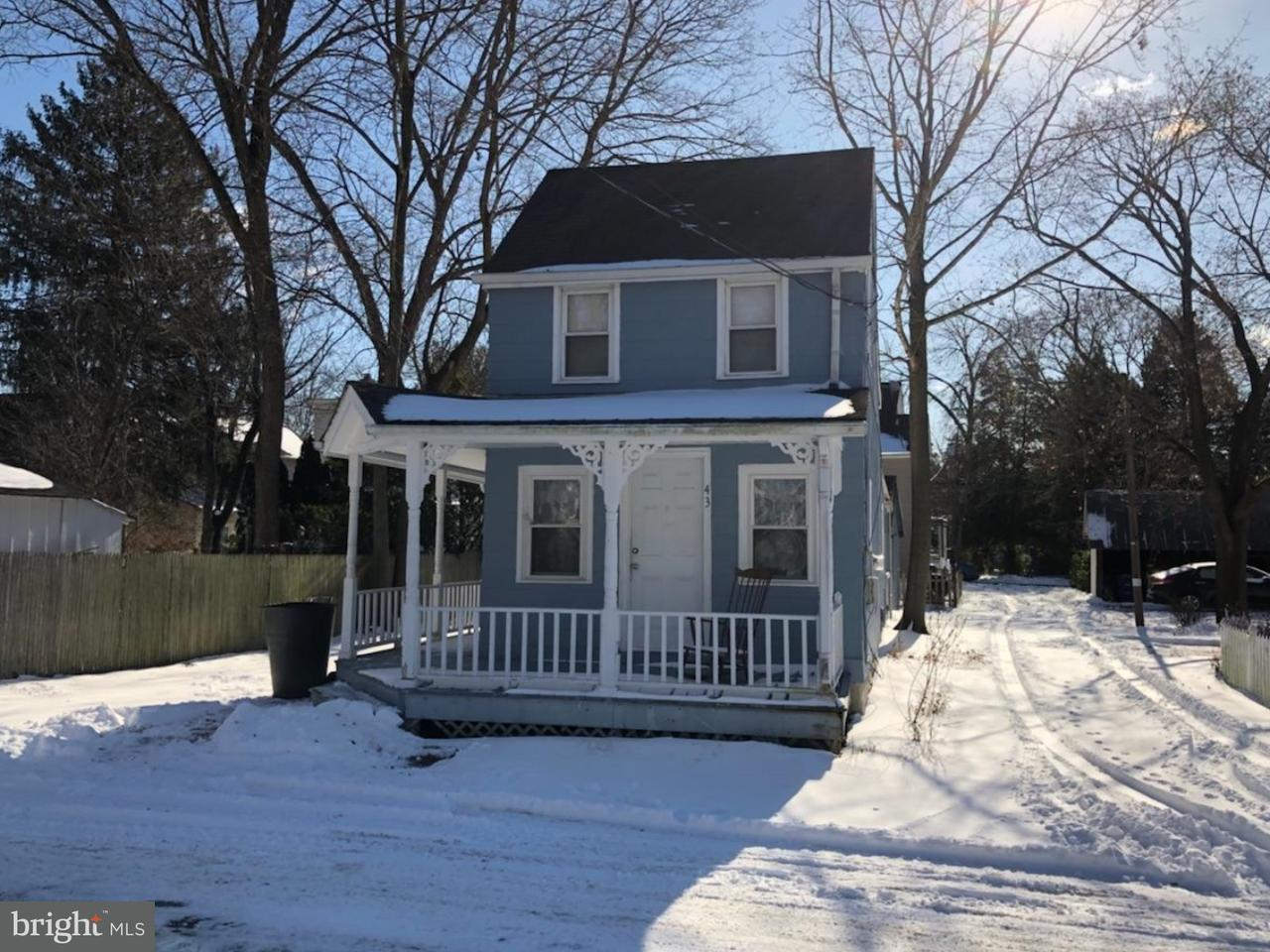 Maison unifamiliale pour l à louer à 43 MULBERRY Street Medford, New Jersey 08055 États-Unis