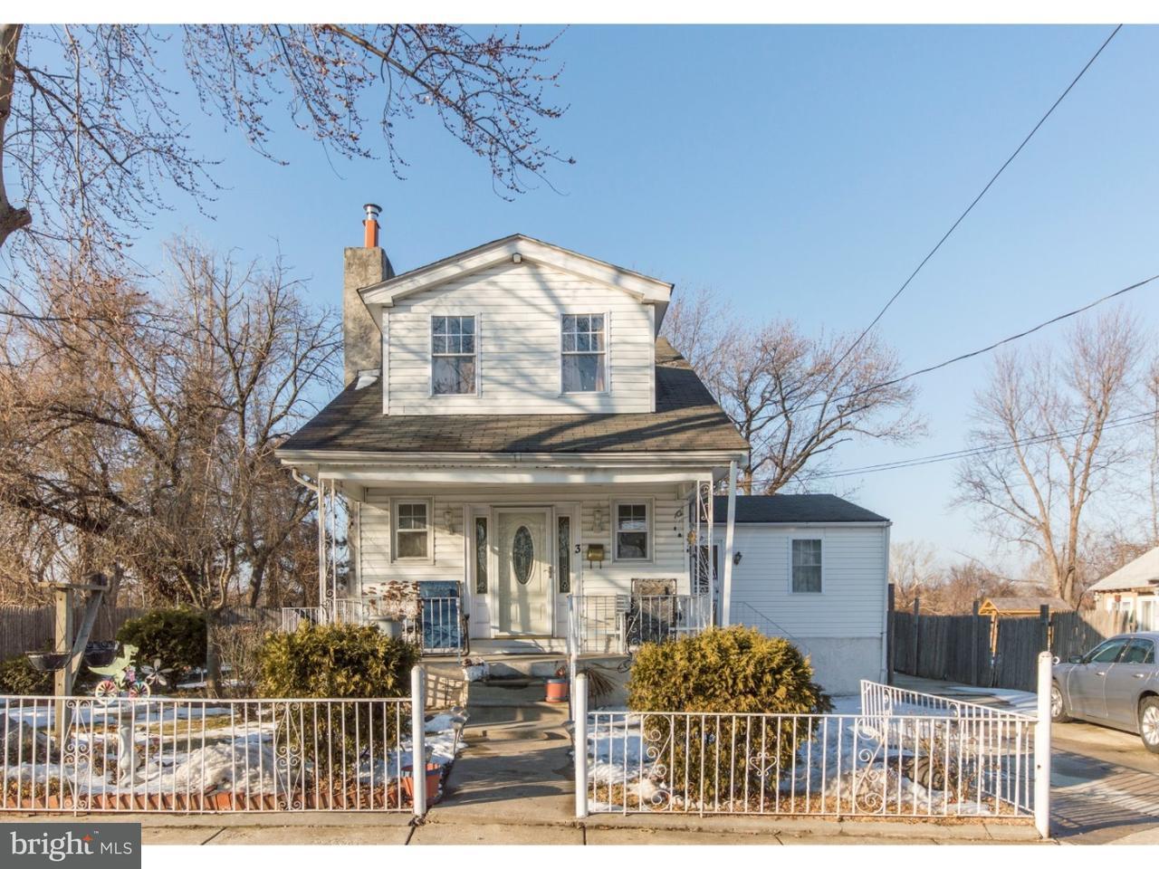 Частный односемейный дом для того Продажа на 3 BAYARD Avenue Sharon Hill, Пенсильвания 19079 Соединенные Штаты
