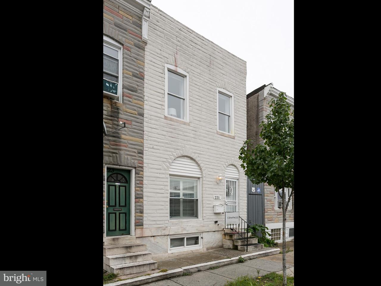 Single Family for Sale at 221 Lakewood Ave N Baltimore, Maryland 21224 United States