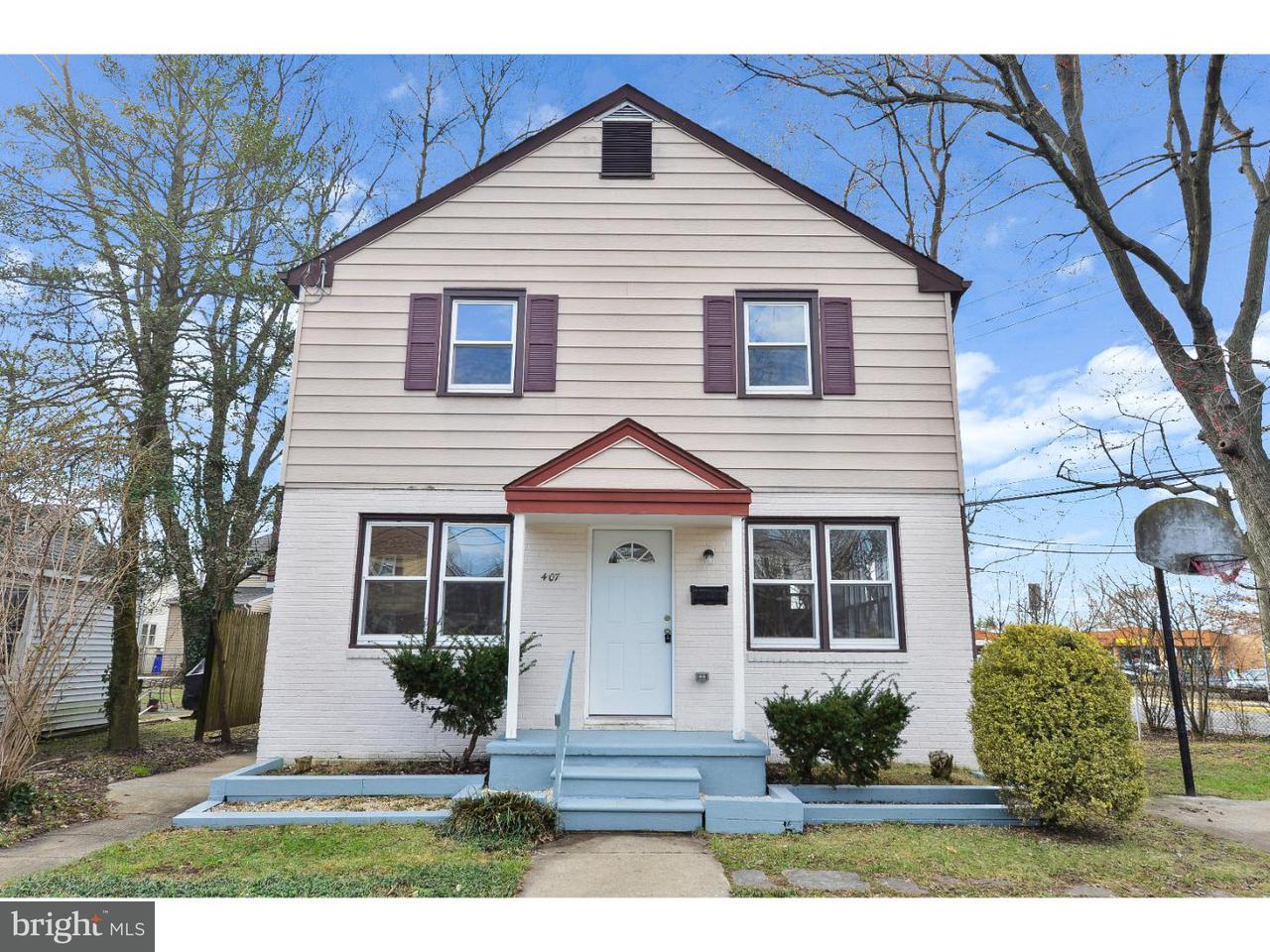 独户住宅 为 销售 在 407 E PENN BLVD Woodbury, 新泽西州 08096 美国