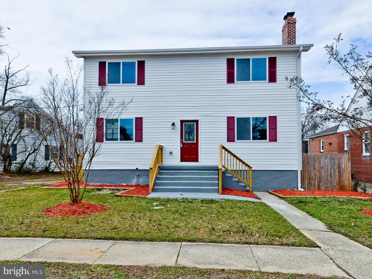 Single Family Home for Sale at 2717 Newglen Avenue 2717 Newglen Avenue District Heights, Maryland 20747 United States