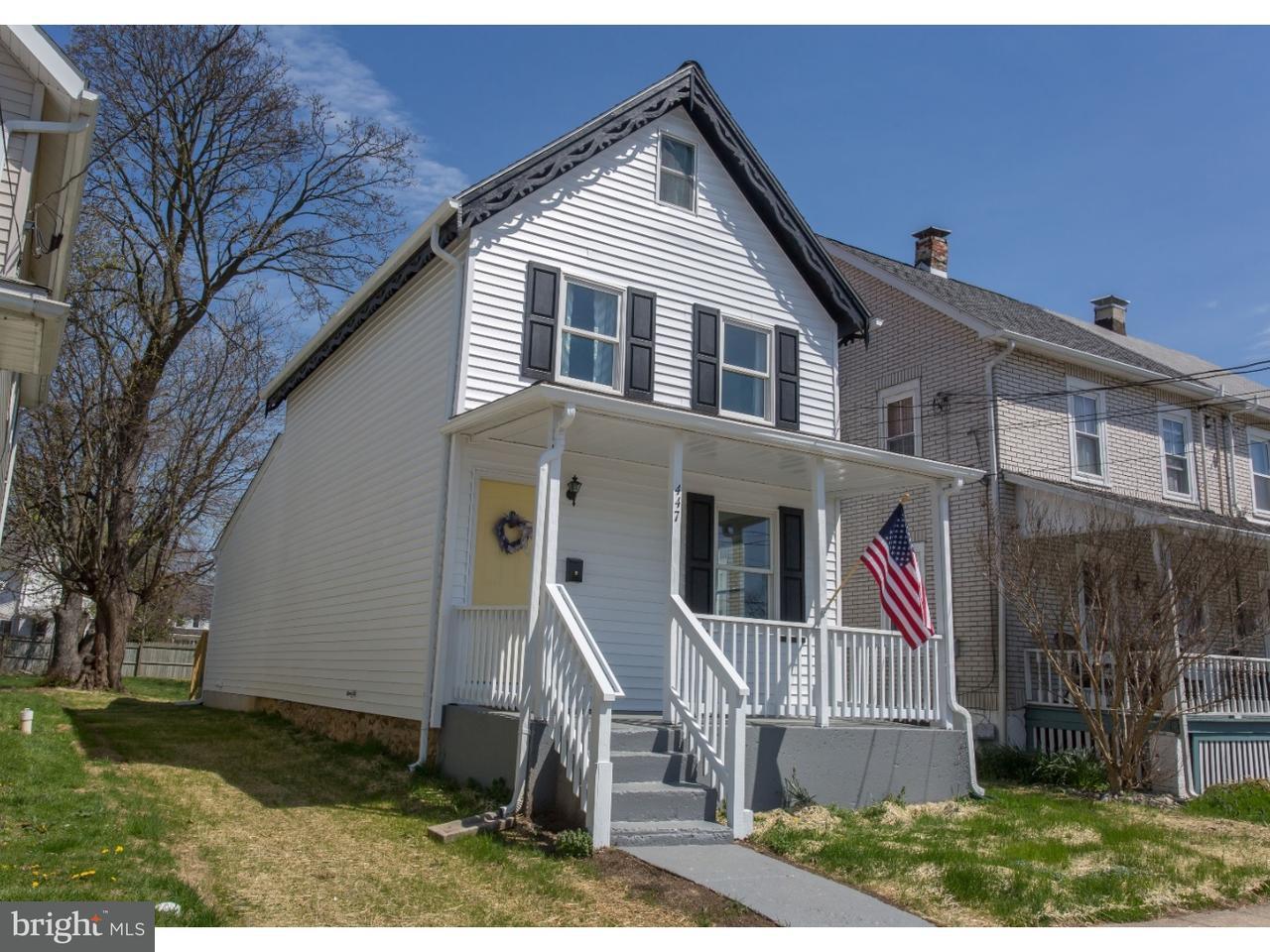 Single Family Home for Rent at 447 HODGSON Street Oxford, Pennsylvania 19363 United States