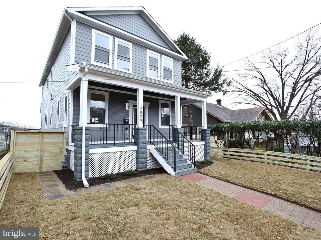 Single Family Home for Sale at 2809 Evarts St Ne 2809 Evarts St Ne Washington, District Of Columbia 20018 United States