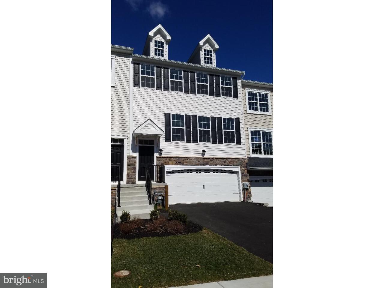 Townhouse for Rent at 654 JACOBSEN Circle Newark, Delaware 19702 United States