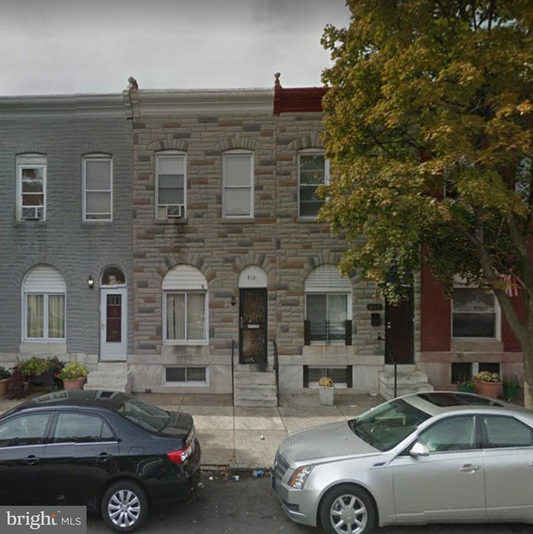 Single Family for Sale at 812 Montford Ave Baltimore, Maryland 21205 United States