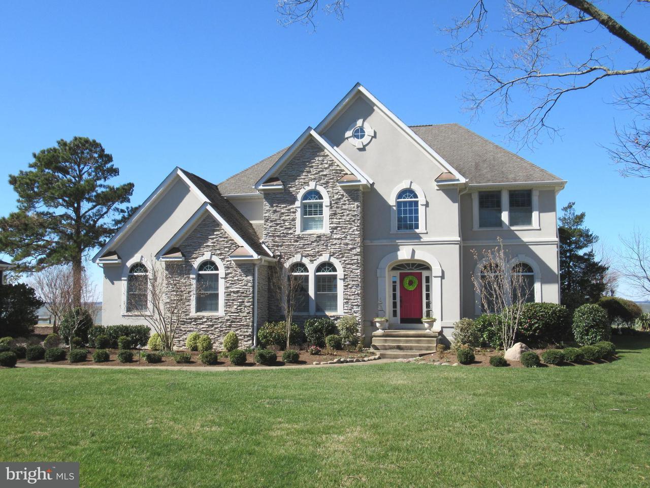 Casa Unifamiliar por un Venta en 11240 Keokee Court 11240 Keokee Court Swan Point, Maryland 20645 Estados Unidos