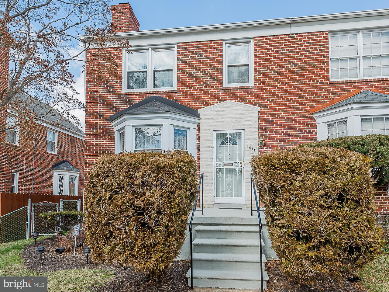Single Family for Sale at 1614 Ingram Rd Baltimore, Maryland 21239 United States